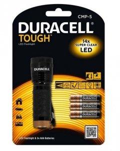 Duracell Latarka LED Tough CMP-5 Wodoodporna + 3x AAA