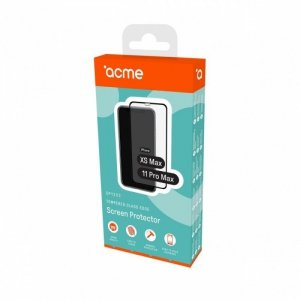 ACME Europe Szkło hartowane edge do iPhone Xs Max / 11 Pro Max, czarna ramka, 9H, 0,33m, 2,5D