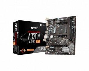 MSI Płyta główna A320M-A PRO MAX 2DDR4 DVI/HDMI M.2 m-ATX