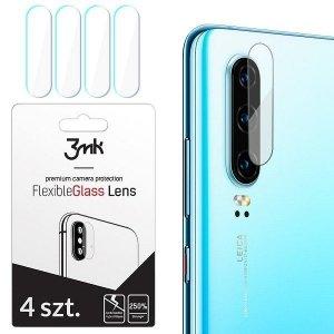 3MK Szklo hybrydowe na  obiektyw aparaty 4 szt FlexibleGlass Lens Samsung S10 Lite G770