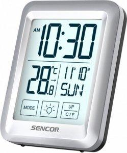 Sencor Termometr pokojowy z zegarkiem SENCOR SWS 1918 Budzik