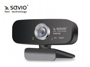 Elmak Kamera Internetowa USB Full HD SAVIO CAK-02 z mikrofonem