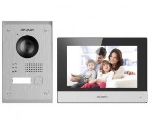 Hikvision Zestaw wideodomofonu IP DS-KIS703-P
