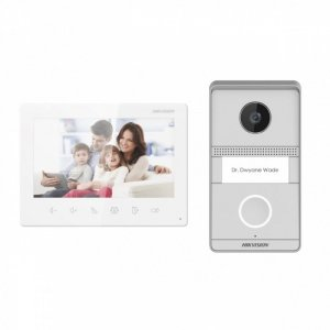 Hikvision Zestaw wideo domofonowy  DS-KIS101-P/Flush