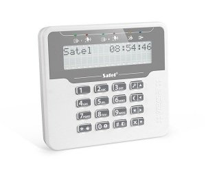 Satel Manipulator LCD do central VERSA-LCDM-WH