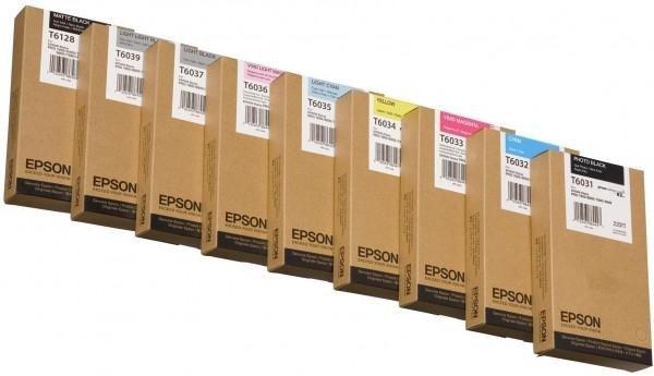 Atrament Matte Black 220 ml do Epson Stylus Pro 7400/7450/7800/7880/9400/9450/9800/9880 C13T612800