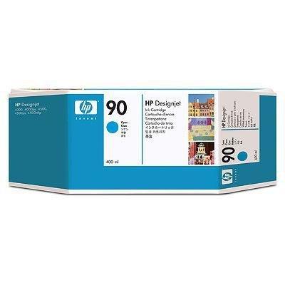 Tusz (Ink) HP 90 cyan (400ml) do DnJ 4000/4000PS/4020/4500/4500PS/4520 C5061A