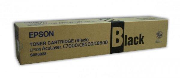 Toner czarny do Epson AcuLaser C8500/8600 wyd. 5 500. stron A4 przy 5% pokryciu