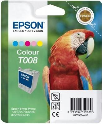 Tusz (Ink) T008 color do Epson Stylus Photo 870/890/915, wyd. do 220 str.
