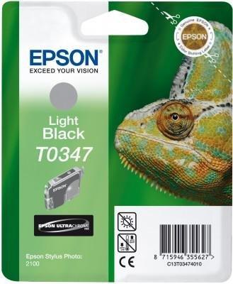 Atrament do Epson Stylus Photo 2100 - jasno czarny T0347
