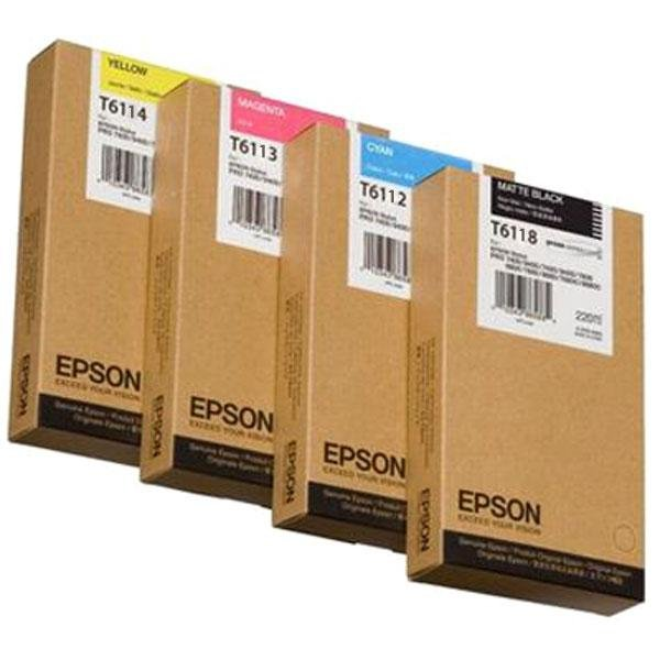Atrament Matte Black 110 ml do Epson Stylus Pro 7400/7450/7800/7880/9400/9450/9800/9880 C13T611800