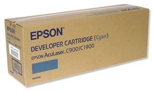 Toner cyan do Epson AcuLaser C1900, C900/N, wyd. około 4,5 tys. stron A4 przy 5% pokryciu