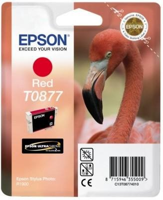 Tusz (Ink) T0877 red do Epson Stylus Photo R1900
