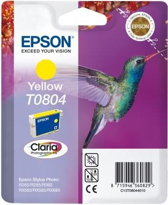 Wkład yellow do Epson Stylus Photo R265/360/RX560/585/685; T0804
