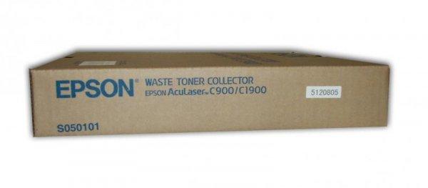 Pojemnik na zużyty toner do Epson AcuLaser C1900, C900/N, wyd. około 25 000 stron w czerni i 6250 w kolorze C13S050101