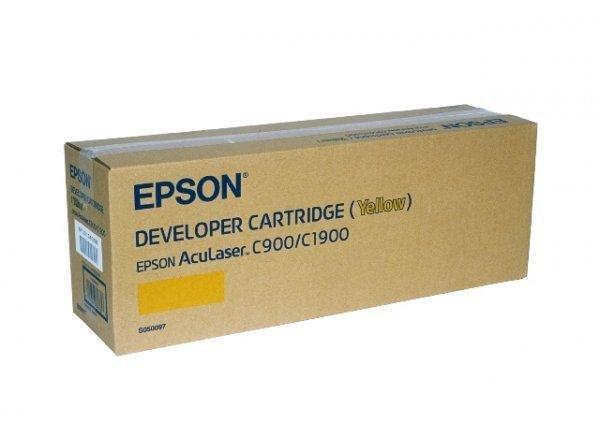 Toner yellow do Epson AcuLaser C1900, C900/N, wyd. około 4,5 tys. stron A4 przy 5% pokryciu