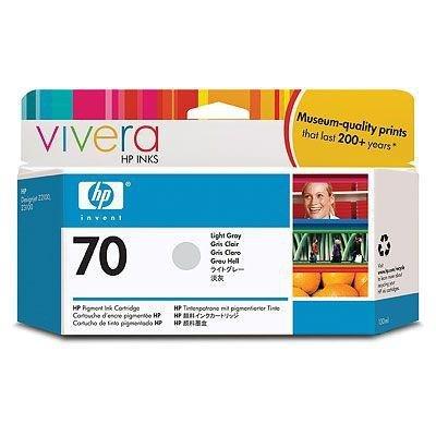 Tusz HP 70 light grey (130ml) Vivera C9451A