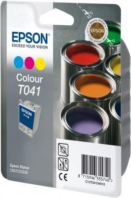 Wkład kolorowy do Epson Stylus C62/CX3200 wydajnosc 300 stron T041