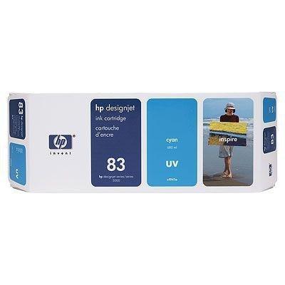 Tusz (Ink) HP 83 cyan (680ml) system UV do DnJ 5000/5000ps/5500/5500ps C4941A