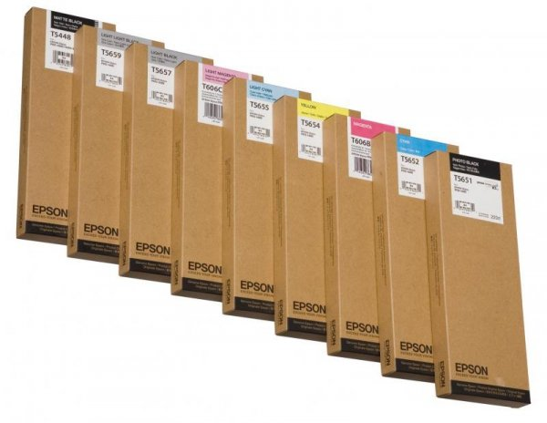 Atrament czarny mat 220 ml do Epson Stylus Pro 4000/7600/9600 C13T544800