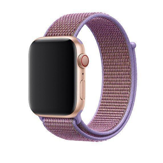 Apple Opaska sportowa w kolorze liliowym do koperty 44 mm