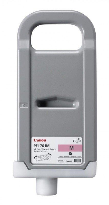 Tusz Canon PFI-701M Magenta 700ml do iPF8000S iPF8100 iPF9000S iPF9100 CF0902B001AA