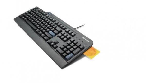 Lenovo Klawiatura USB Smartcard Keyboard US English 4X30E50999