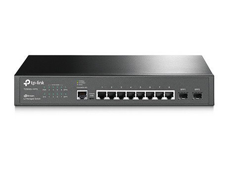 TP-LINK Switch Managed T2500G-10TS(TL-SG3210)8x1GB 2xSFP