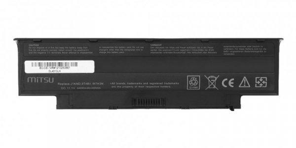 Mitsu Bateria do Dell 13R, 14R, 15R 4400 mAh (49 Wh) 10.8 - 11.1 Volt