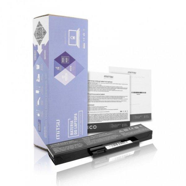 Mitsu Bateria do Fujitsu V5515, V5535, V5555 4400 mAh (49 Wh) 10.8 - 11.1 Volt