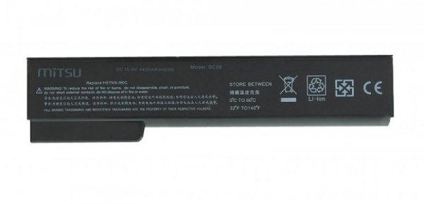 Mitsu Bateria do HP EliteBook 8460p, 8460w 4400 mAh (48 Wh) 10.8 - 11.1 Volt