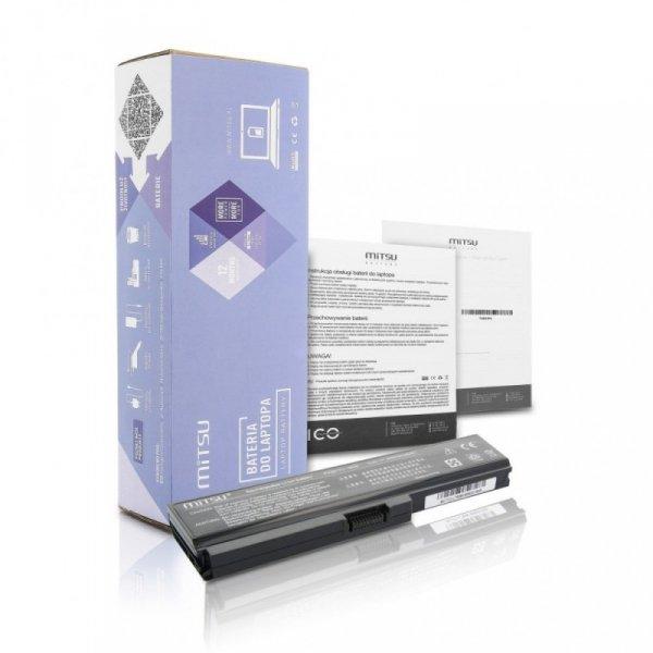 Mitsu Bateria do Toshiba L700, L730, L750 4400 mAh (48 Wh) 10.8 - 11.1 Volt