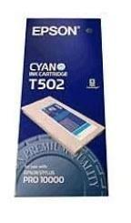 Atrament cyan 500ml do Epson Pro 10000 C13T502011
