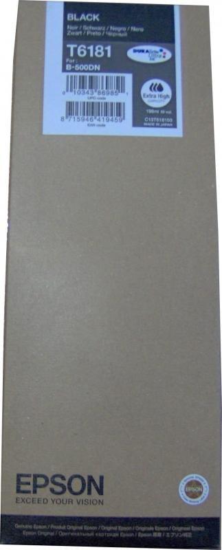 Wkład atramentowy tusz Epson do B500DN Black (czarny) T6181 DURABrite Ultra Ink (extra high capacity) C13T618100