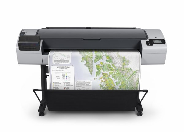Ploter HP Designjet T795 44-in ePrinter  CR649C  + 0,5 km Papieru Gratis PLATINUM PARTNER HP 2018