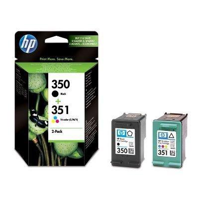 Tusz (Ink) HP 350 black [CB335EE] + HP 351 color [CB337EE] - Multipak
