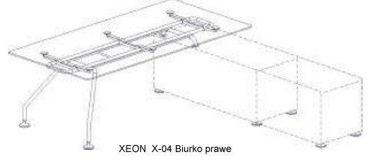 Biurko prawe Xeon