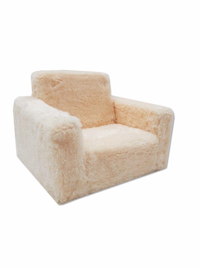Fotel rozkładany dla dzieci- Beżowy