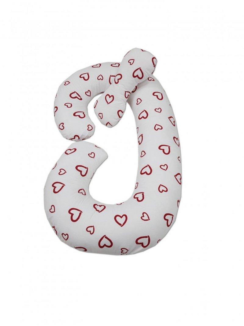 Poduszka ciążowa Typ C Rogal do karmienia i spania - SERCA