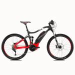 Rower elektryczny Haibike SDURO FullSeven 6.0 27,5 antracytowo-czerwono-biały