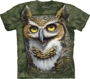 T-SHIRT THE MOUNTAIN WISE OWL 10-3523