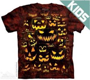 Koszulka dziecięca THE MOUNTAIN JACK O LANTERN WALL 15-3823