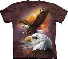 Koszulka The Mountain Eagle & Clouds 10-3370