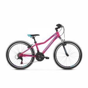 Rower Kross Lea Junior 24 różowy-niebieski-fioletowy