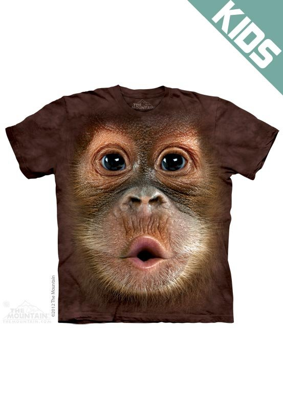 Koszulka dziecięca THE MOUNTAIN BIG FACE BABY 15-3587
