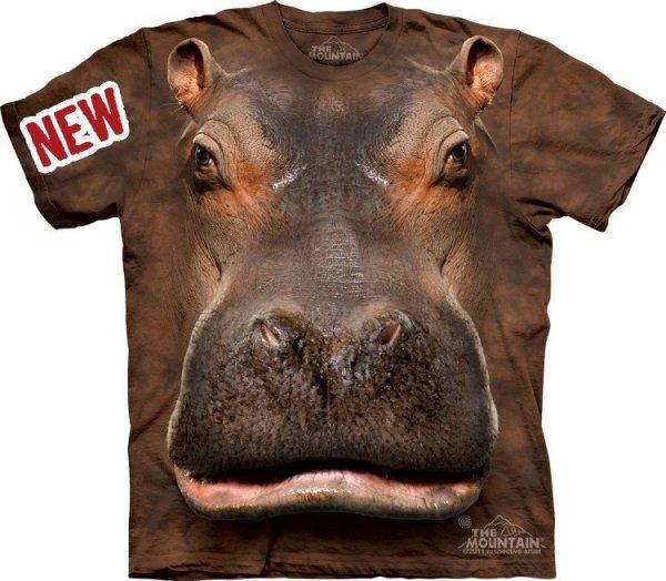 Koszulka THE MOUNTAIN HIPPO HEAD 10-3384