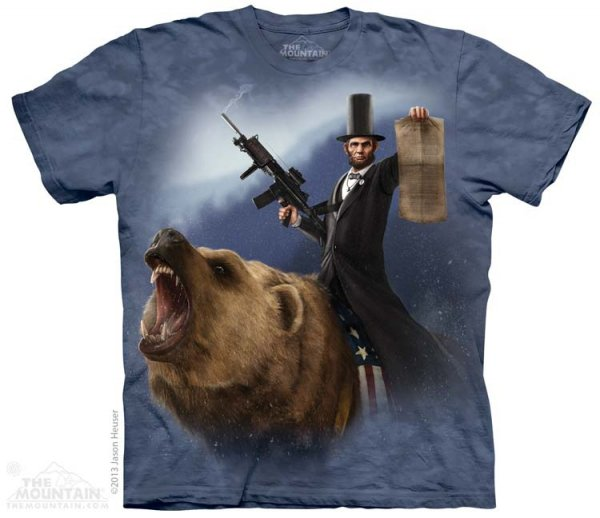 KOSZULKA T-SHIRT THE MOUNTAIN LINCOLN 10-3866