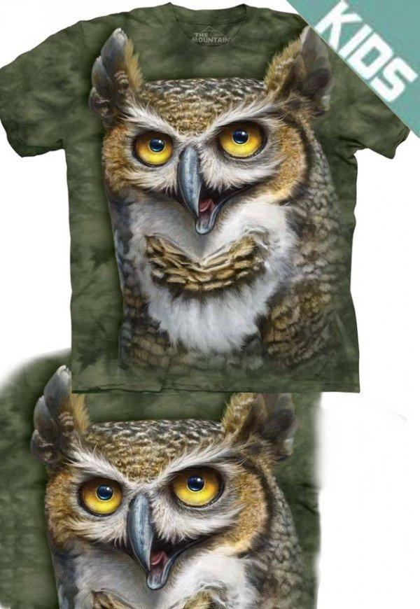 Koszulka dziecięca THE MOUNTAIN WISE OWL 15-3523