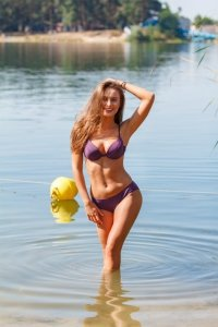 Kostium kąpielowy Cascada M-025 Purple (Fioletowy)