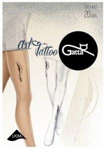 Rajstopy Art Tattoo 04